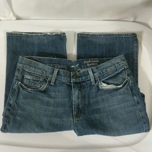 7 for all Mankind High Waist Bootcut - 31 Altered
